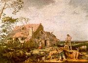 BLOEMAERT, Abraham Landscape with Peasants Resting  gggf oil